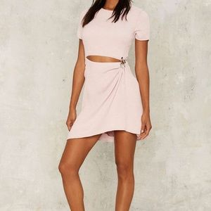 STYLESTALKER Thea Asymmetrical Cutout Dress